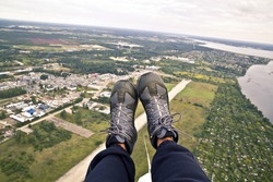 Paraglider's boots
