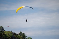 Paragliding, Freedom, Flying like a bird. Extreme sport