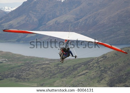 Paragliding - Queenstown - New Zealand