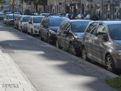 Parallel Parking On The Cobbled Road