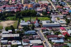 Paramaribo by air