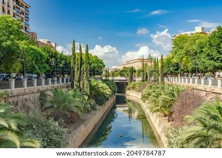 Parc de Sa Riera of Palma de Mallorca 8029 Foto stock ©