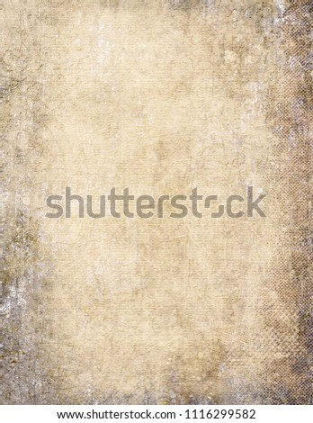 Parchment, Paper, Textured, Textured Effect, Backgrounds #1116299582