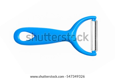 Shutterstock Paring knife isolated on white background