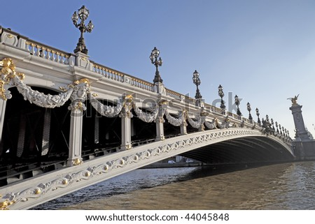 Paris Alexander III Bridge