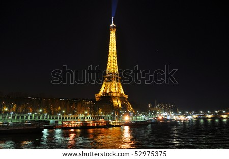 Eiffel Tower Paris Pictures Night on Paris April Eiffel Tower At Night On April In Paris The Eiffel Tower