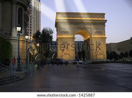 Paris Arc de Triumphe Las Vegas