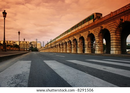 Paris Bercy  bridge