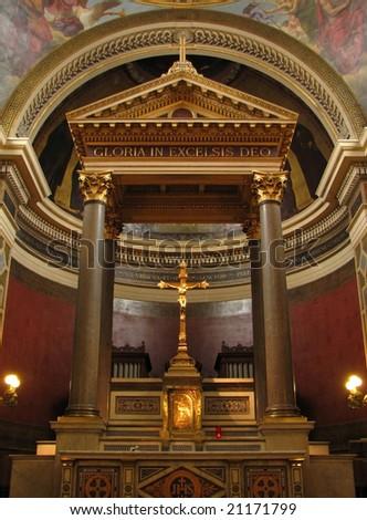 Paris - Church of Notre Dame de Lorette - Tabernacle