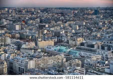 Paris, France, cityscape #581114611