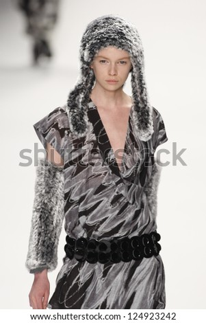 PARIS, FRANCE - MARCH 04: A model walks the runway at the Issey Miyake fashion show during Paris Fashion Week on March 4, 2011 in Paris, France