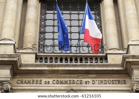 Paris france may 9 the paris chamber of commerce for Chambre de commerce et industrie lille