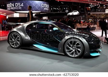 PARIS, FRANCE - SEPTEMBER 30: Paris Motor Show on September 30, 2010 in Paris, showing Citroen Survolt Concept, front view