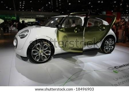 Paris Motor Show 4-19 October 2008: the Citroen C-Cactus Concept Car