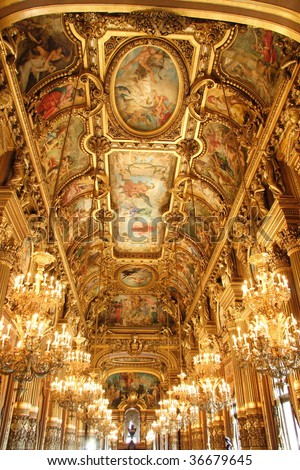 Paris: Opera Garnier's beautiful ceiling