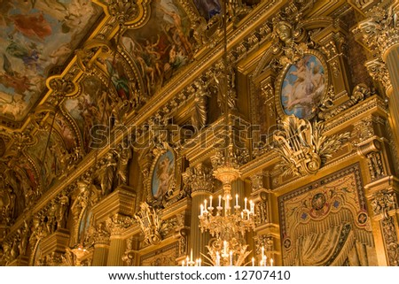 Paris Opera House Main Foyer
