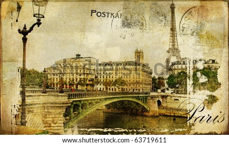 Paris paris. vintage photoalbum series
