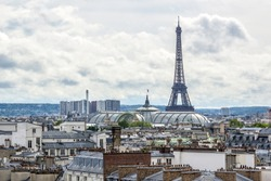 Paris skyline. France.