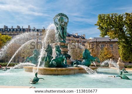 Paris, St Germain des Pres Church
