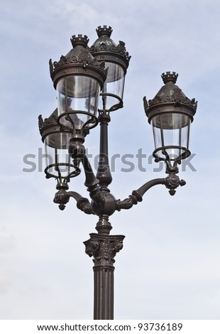 Paris Street Lamp