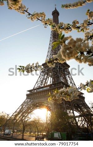 Paris with Eiffel Tower, France