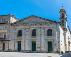 parish church in Lugo (in Spanish Parroquia de Santiago La Nova de Lugo) Northern Spain Galicia