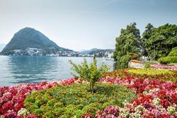 Park in Lugano, Switzerland