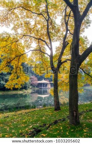 Park landscape image - Shutterstock ID 1033205602