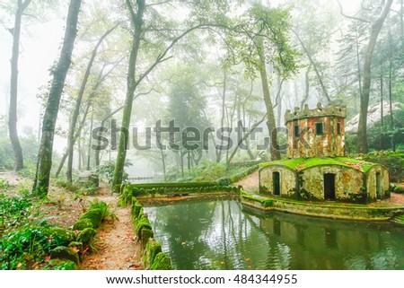 Shutterstock Park of Palacio Nacional de Pena, Sintra, Portugal
