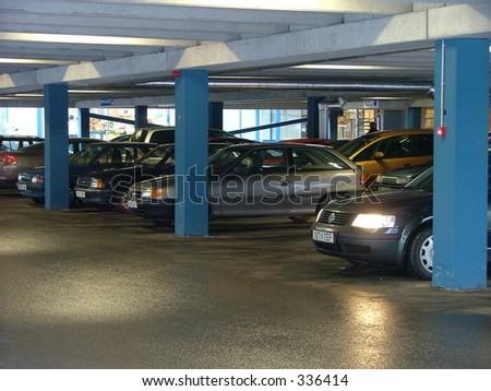 Parkenden Haus - stock photo