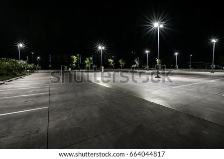 Parking at night #664044817