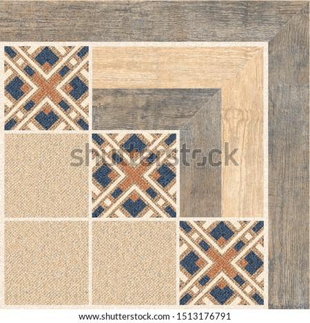 Parking Floor Tiles, Geometric Tiles Design, Wood and Jute Floor Tiles, Decorative Floor Tiles