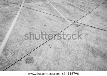 parking lot  concrete floor