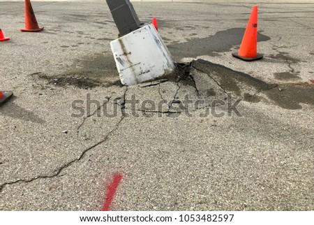 Parking Lot Mishaps #1053482597