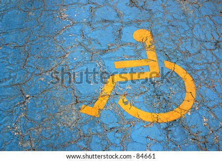 parking place for handicapped