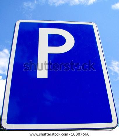 parking roadsign
