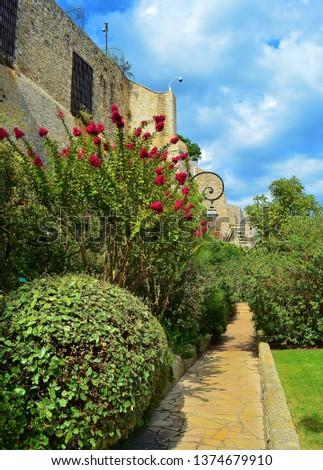 parks and vegetation in monaco #1374679910