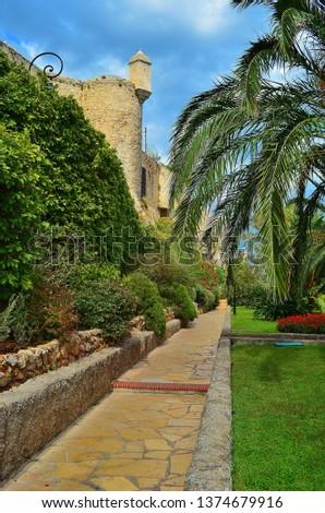 parks and vegetation in monaco #1374679916