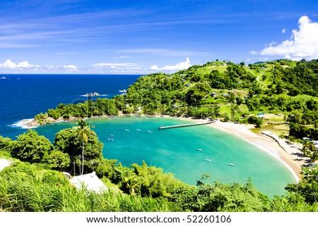 Parlatuvier Bay, Tobago Stock photo ©