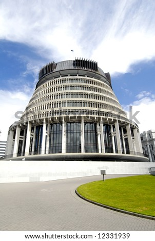 Parliament Building of Wellington, New Zealand