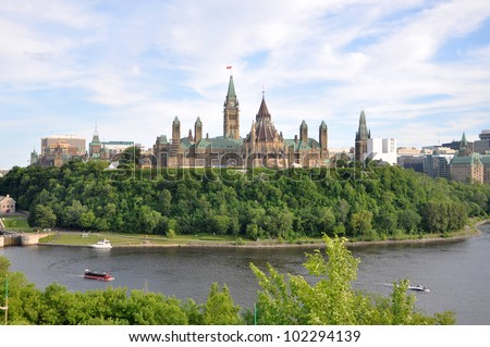 Parliament Buildings and Library, Ottawa, Ontario, Canada