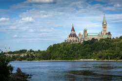 Parliament buildings in Ottawa Ontario Canada