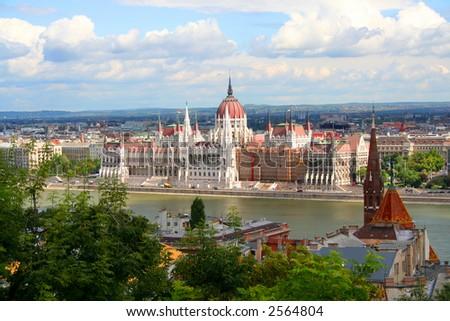 Parliament - Hungary, Budapest; Autumn