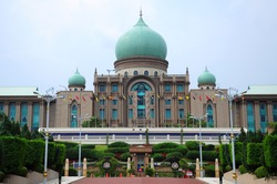 Parliament in Putrajaya, Malaysia