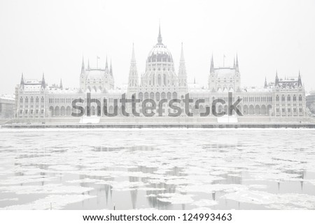 Parliament in winter