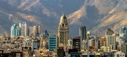Pars Tower in Tehran Iran