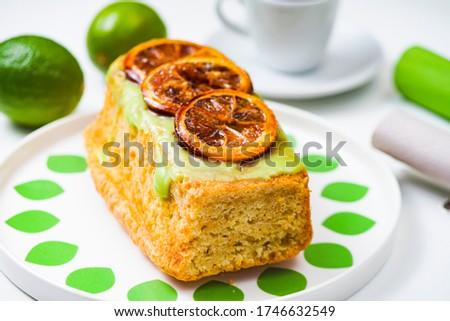 Parsley bread, cake with vegetables Zdjęcia stock ©