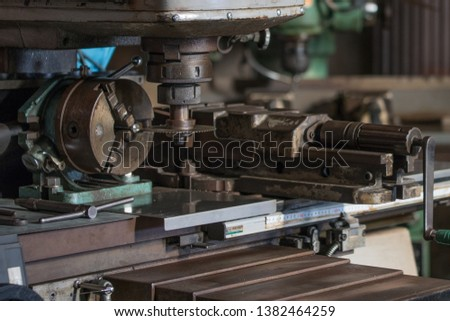 Part milling with milling cutter #1382464259