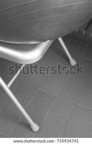 Part of a chair for yoga exercises and exercises #750934741