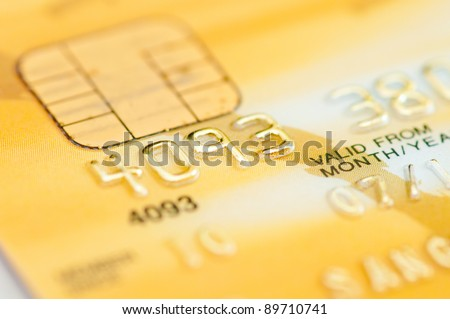 part of credit gold card